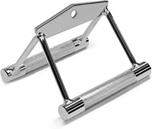 Yes4All Double D Row Handle Cable Attachment – Non Slip Handle & 360° Steel Swivel (Optional)