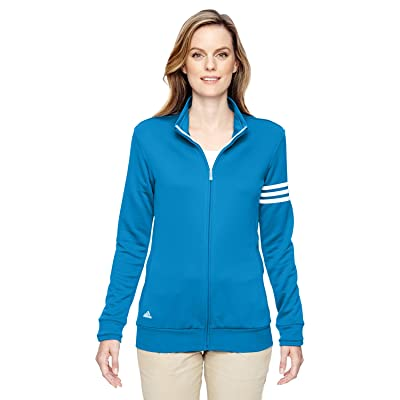 adidas Women's 3-Stripes Full Zip Pullover Jacket