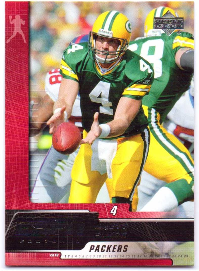 Brett Favre 2005 Ud Espn 36 Green Bay Packers Minnesota Vikings At Amazon S Sports Collectibles Store