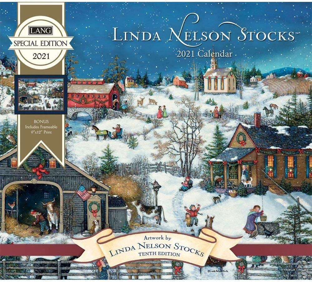 The Lang Companies, 2021 Nelson Stocks Special Edition Wall Calendar