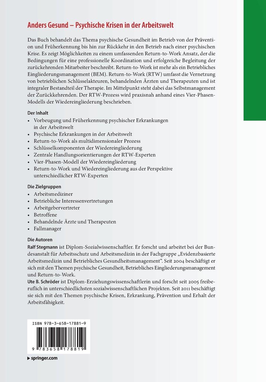 Ausgezeichnet Psychische Gesundheit Therapeut Ideen - Physiologie ...