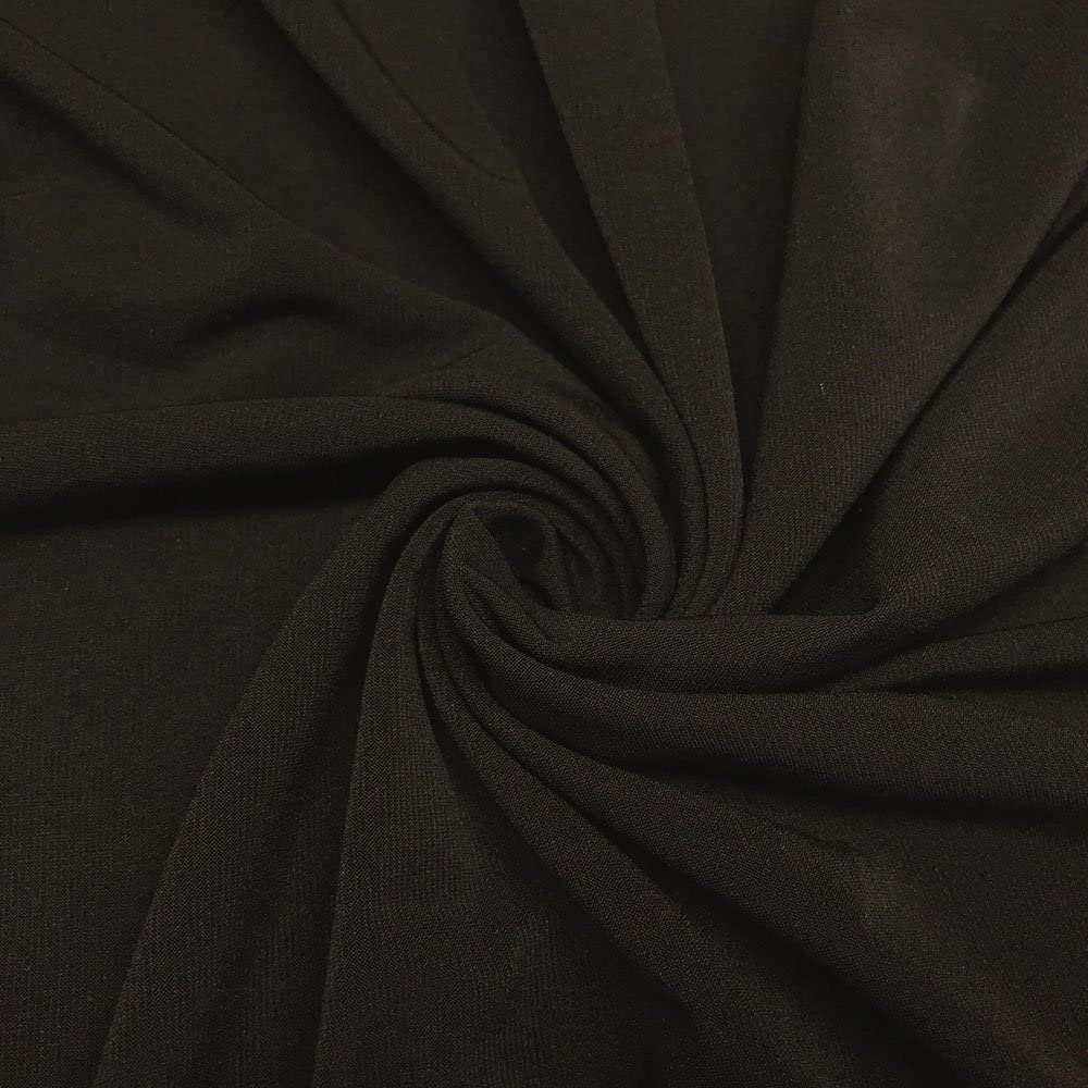 per metre Snakeskin print ITY spandex stretch jersey fabric black /& grey gloss