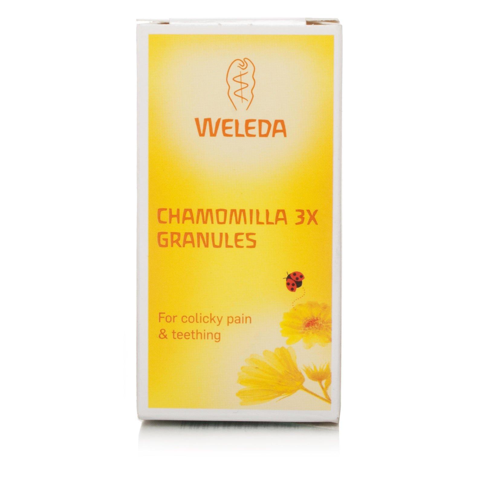 (Pack Of 4) Chamomilla 3x Granules - Teething/Colic PL - R   WELEDA