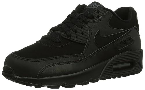 Nike Air Max 90 Mesh (Gs) 833418 001 SchwarzSchwarz Schuhe