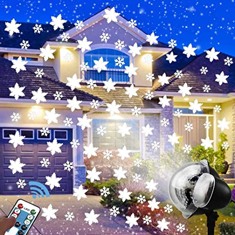BELYSN Lámpara de proyección LED Impermeable Exteriores con ...