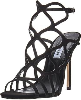 8f50b3eacec Steve Madden Womens Teagen Caged Sandal