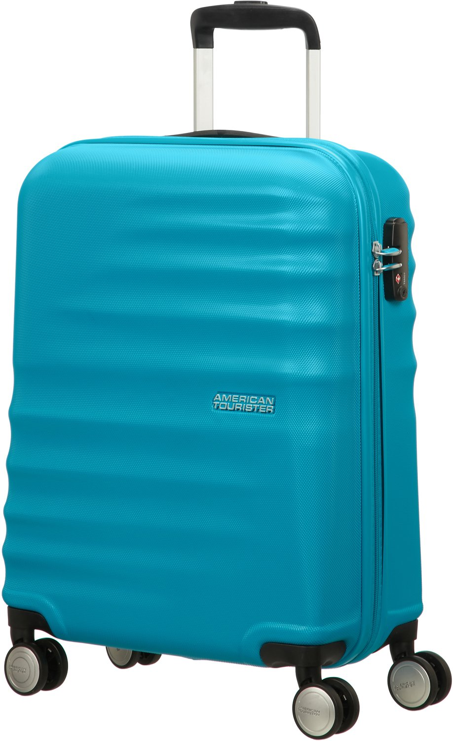 Nautical Blue 77 cm 96 L American Tourister Wavebreaker 2 Pi/èces Bagage