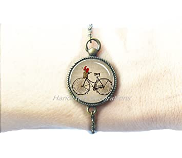 Bicycle Bracelets Bicycle Bracelet Bicycle jewelry,Gifts For Cyclists,Birthday Gift For Her -