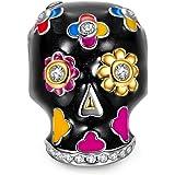 NinaQueen - Cranio - Charms Ciondolo da donna argento sterling 925