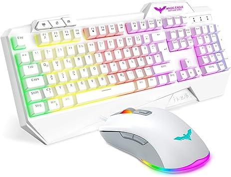havit Teclado para Juegos [DE Layout] Rainbow Conjunto de ...
