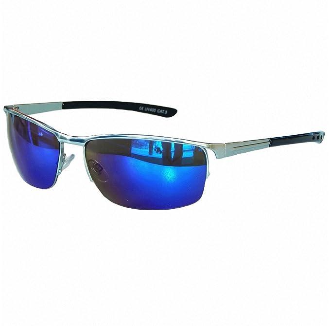 Matrix Sonnenbrille Chrom Silber Verspiegelt Sportbrille Motorradbrille Sport Brille M 21 wDG1jpv