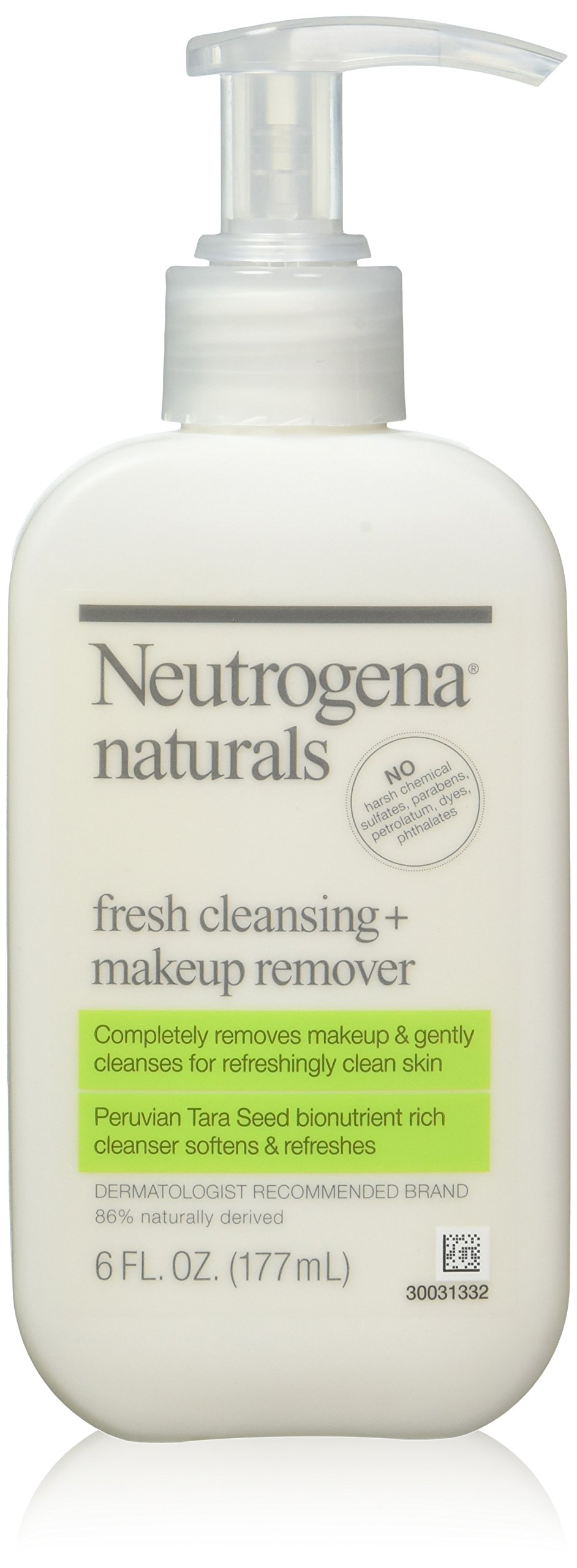 Neutrogena Naturals Fresh Cleansing Plus Makeup Remover - 6 Oz (Pack of 3)