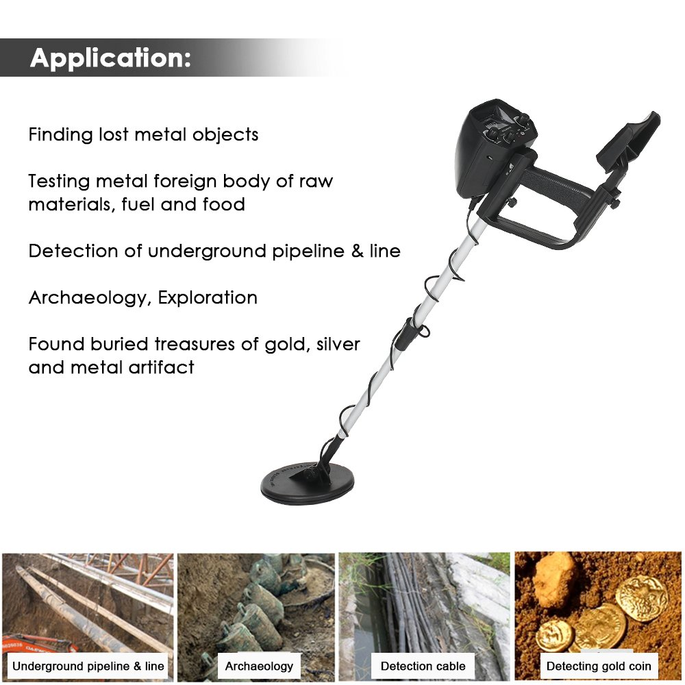 Amazon.com: KKmoon Children Underground Metal Detector Gold Treasure Hunter Seeker Metal Circuit Detector: Toys & Games