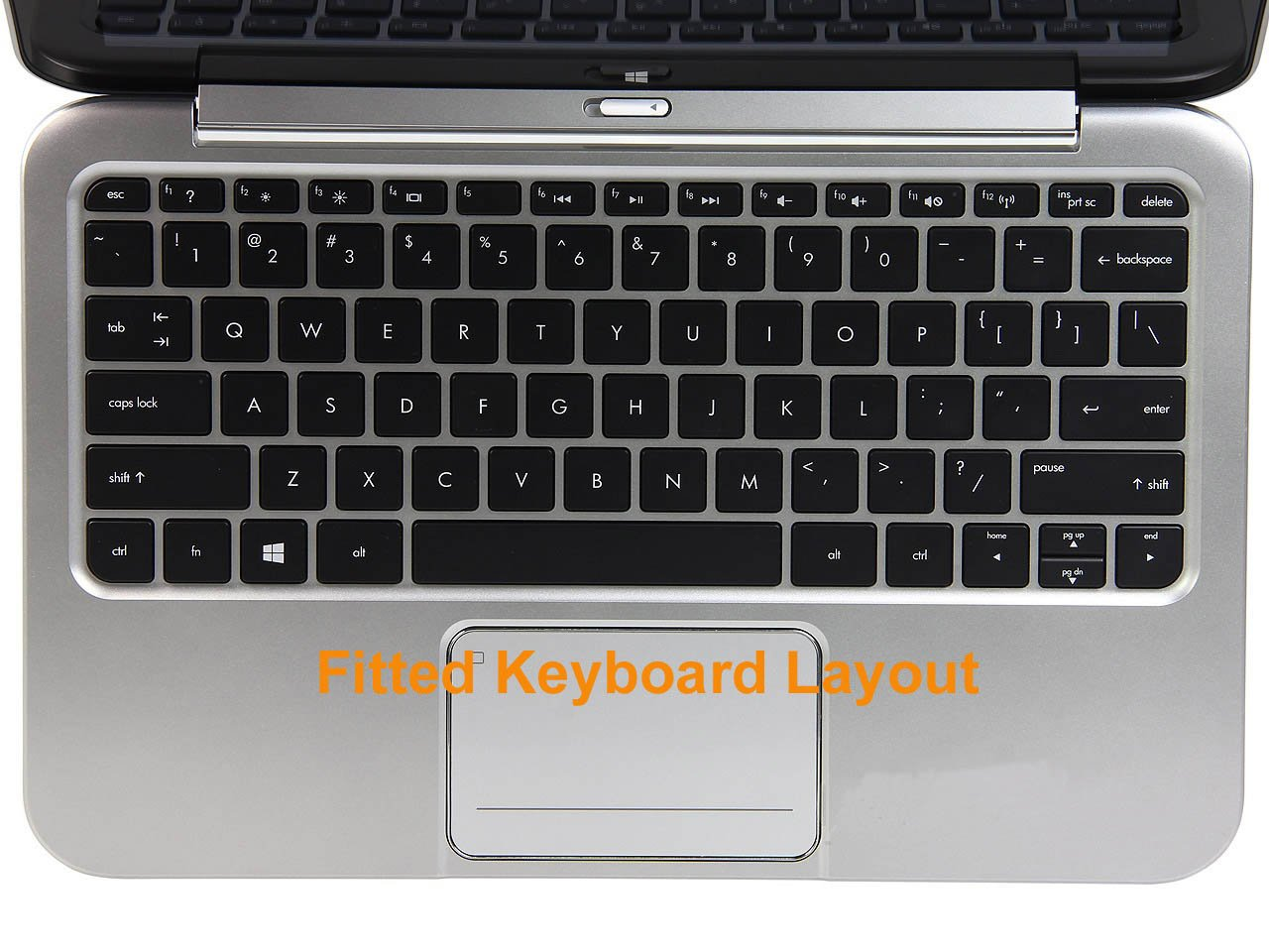 how to get hp keyboard off french