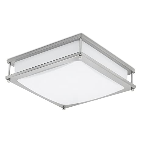 Green Beam Clarity18 inch LED Square Dimmable Ceiling Light and ...