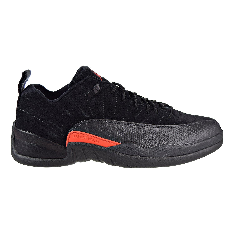 Air Jordan 12 Retro Low Men s Basketball Shoes Black Max Orange-Anthracite 308317-003 13 D M US