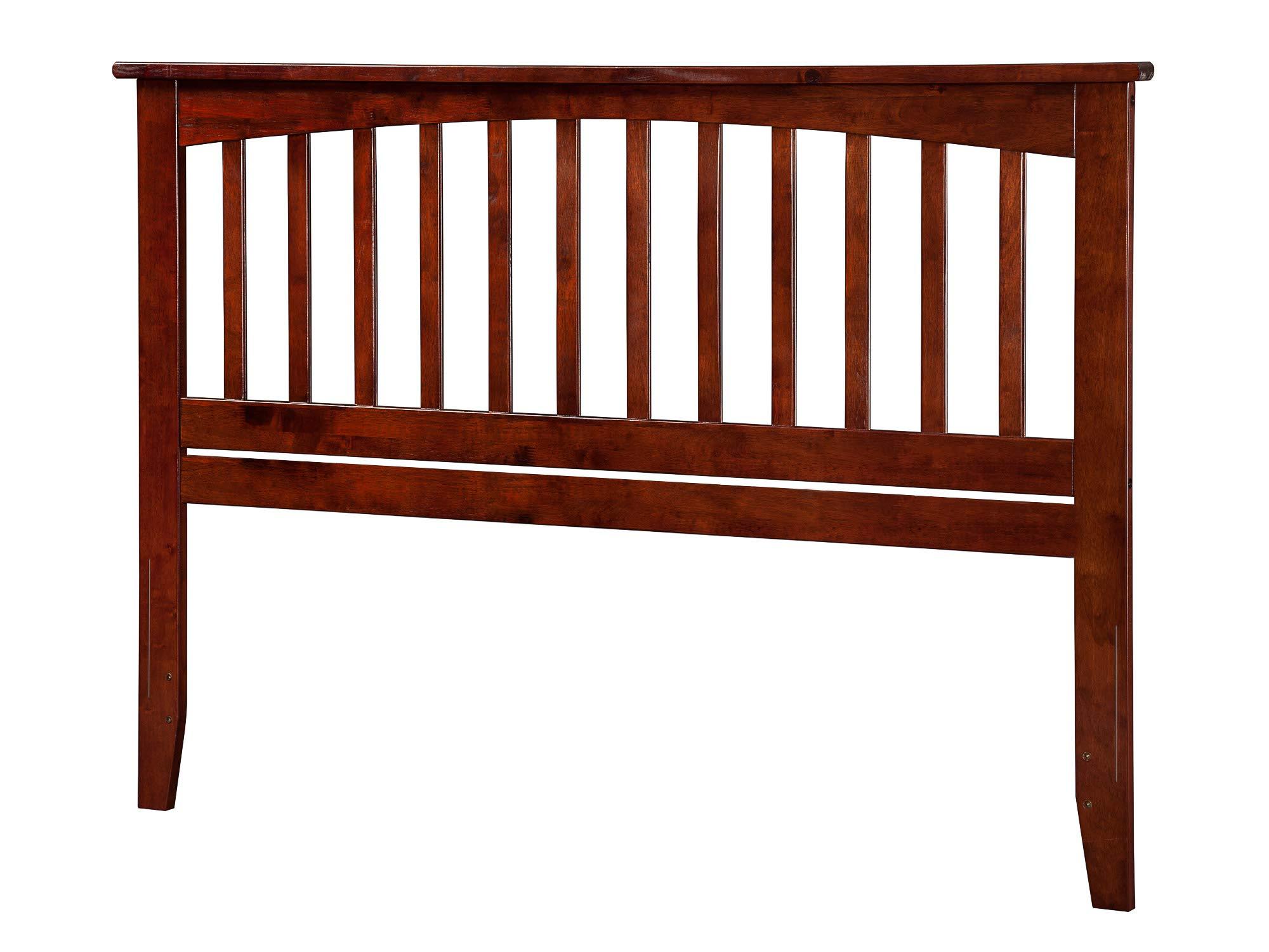 Atlantic Furniture AR287844 Mission Headboard, Queen, Walnut by Atlantic Furniture