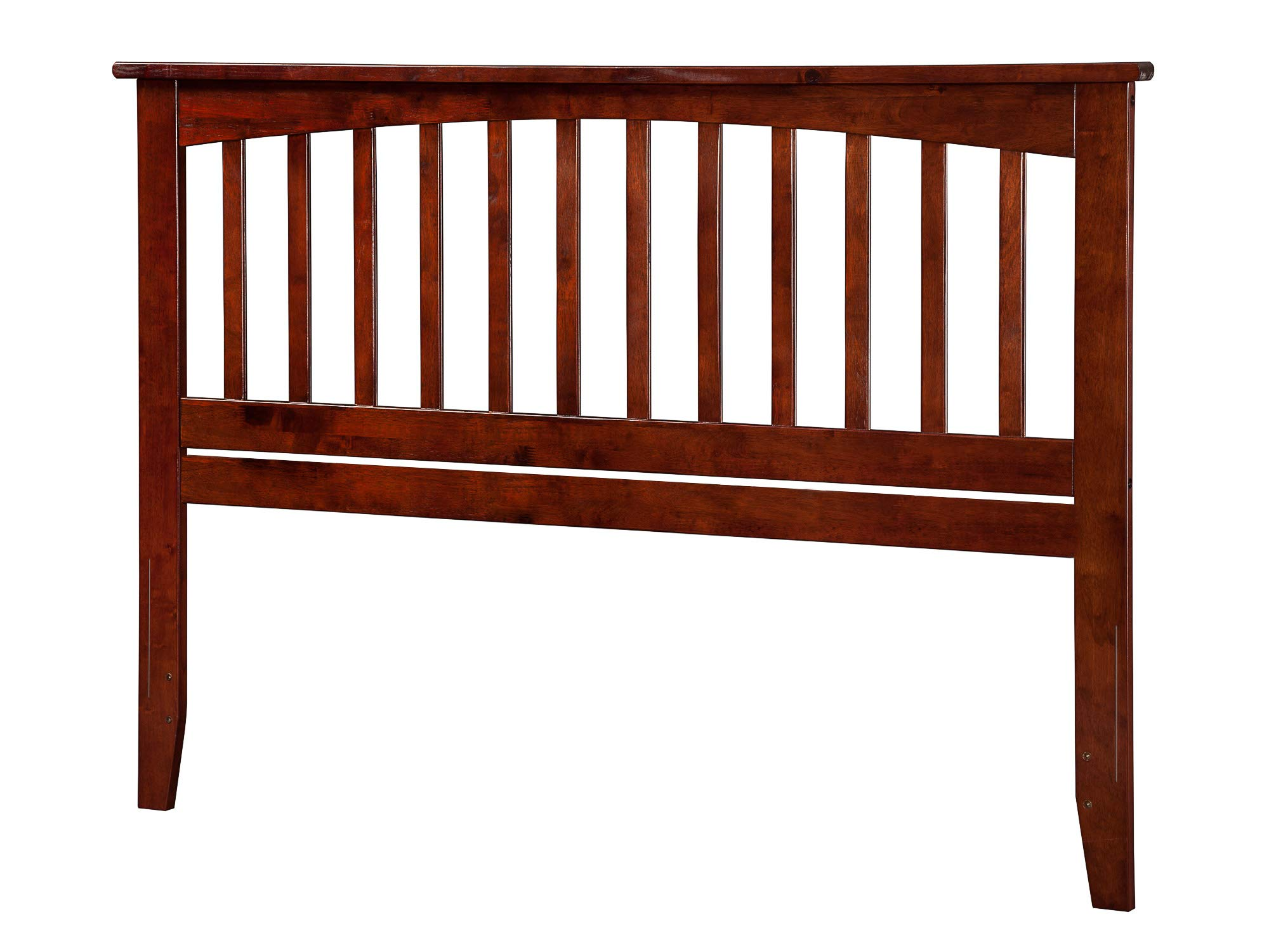 Atlantic Furniture AR287844 Mission Headboard, Queen, Walnut