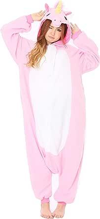 Pink Unicorn Kigurumi - Adult Costume