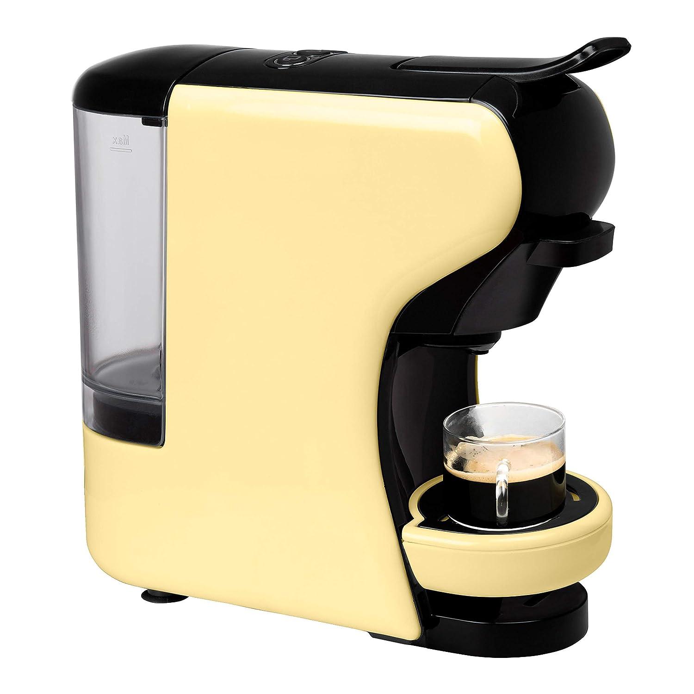 IKOHS Máquina de Café Espresso Italiano - Cafetera Multi Cápsulas Nespresso 3 en 1, 19 bares con 2 Programas de Café, deposito extraíble, 0,7 L, ...