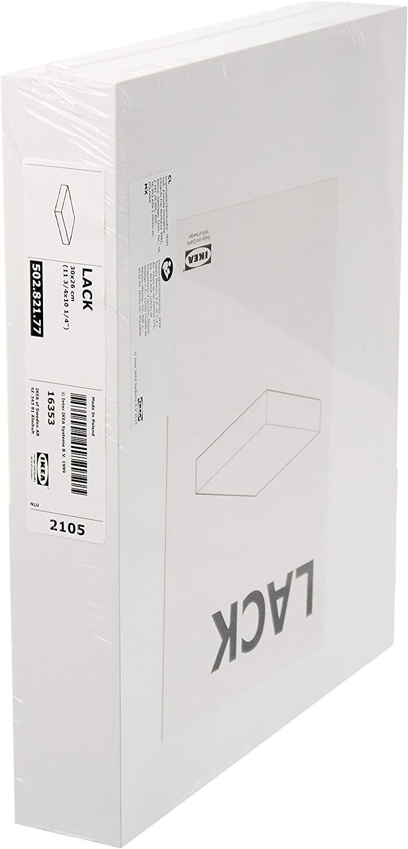 IKEA LACK – Estante de pared, color blanco – 30 x 26 cm
