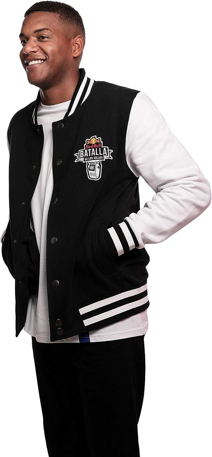 Red Bull Batalla College Chaqueta, Negro Hombre Abrigo, Batalla de ...