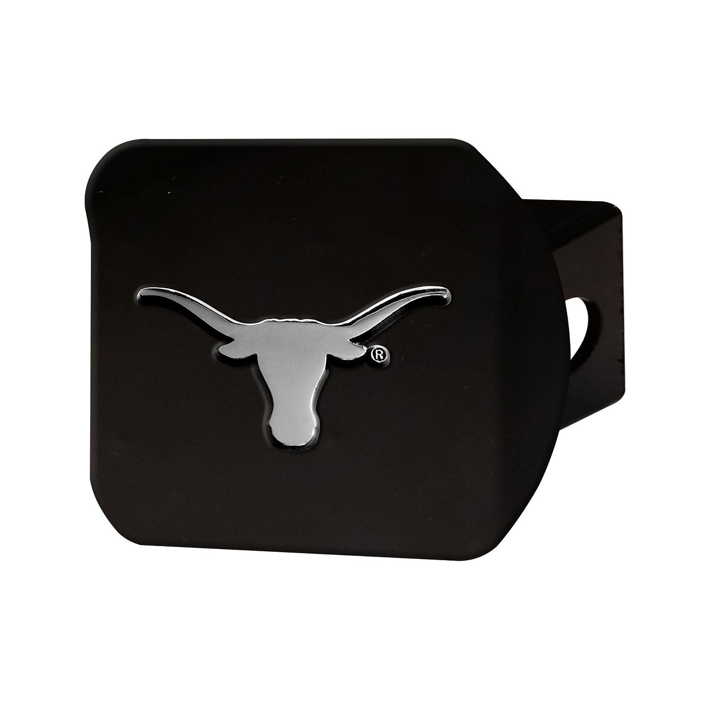 FANMATS 21050 Team Color 3.4x4 Texas Black Hitch Cover