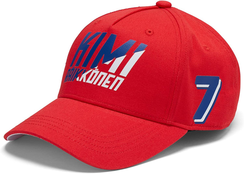 Scuderia Ferrari Red Kimi Raikkonen 2018 Formula 1 Authentic Red Baseball Hat