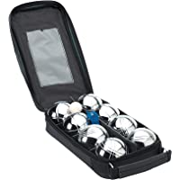 Boules Unisex set met 8 ballen, zwart/zilverkleurig