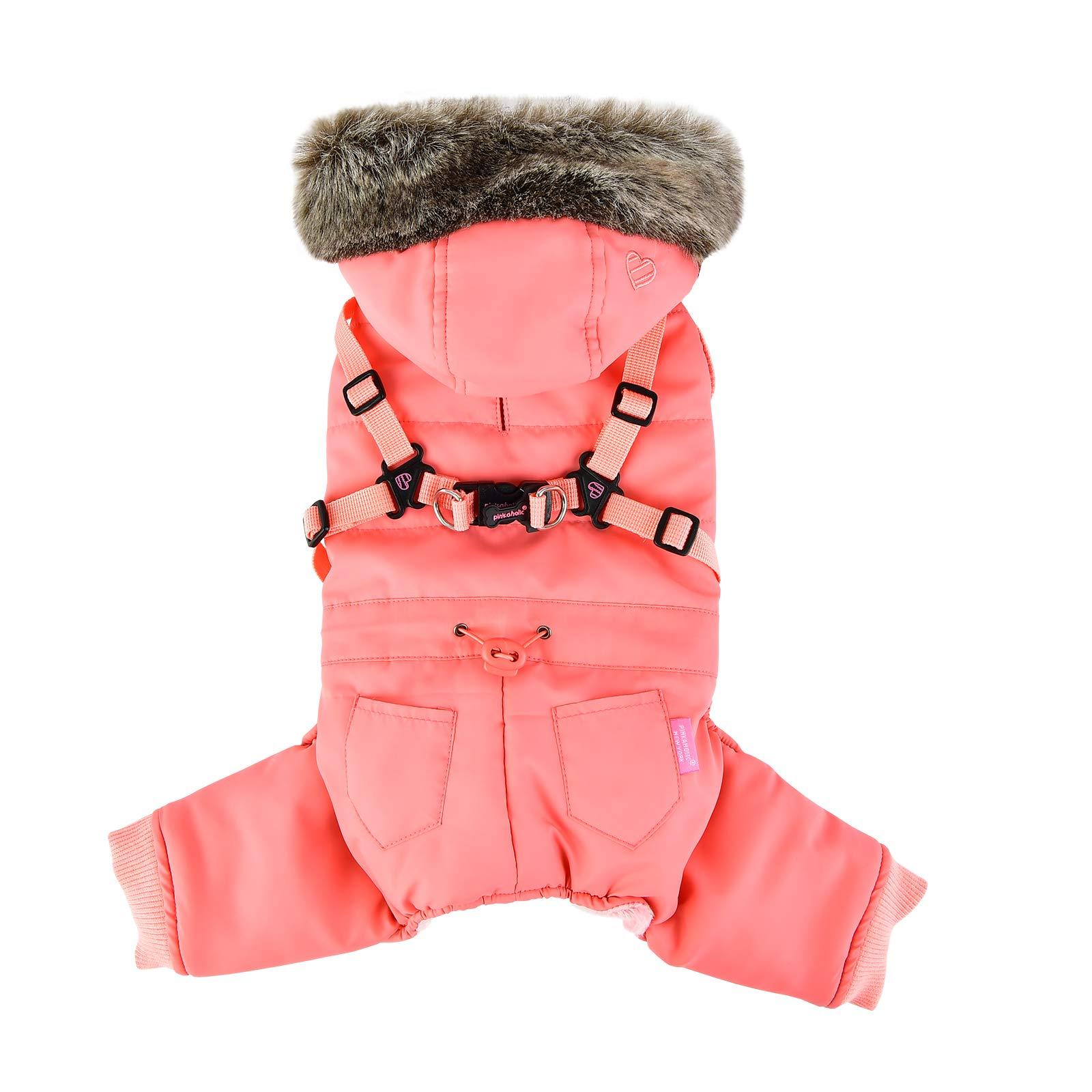 Pinkaholic New York NASD-JP7513-IP-L Evelyn Pet Coat, Indian Pink, Large
