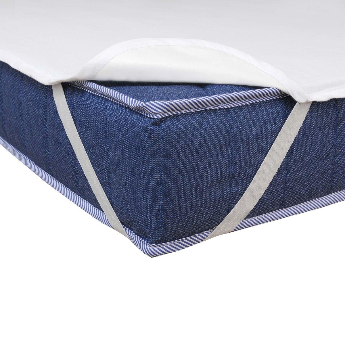 70x140cm Matratzenschoner Wasserdicht Atmungsaktiv Moderno/® Special Molton Betteinlage Inkontinenz mit 4 /Übereckgummis in Breite x L/änge
