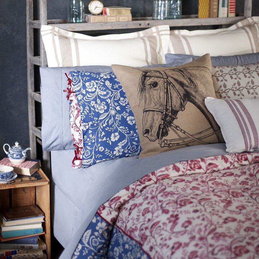 Lady Antebellum's Heartland Euro Pillow Sham Delta Queen Beige
