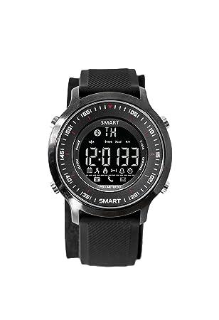 Smartwatch sumergible 50m y con batería larga duración hasta 1 año modo espera, pulsera actividad con ...