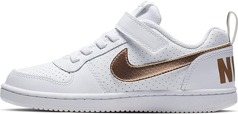 Nike Court Borough Low EP (PSV), Chaussures de Basketball Fille