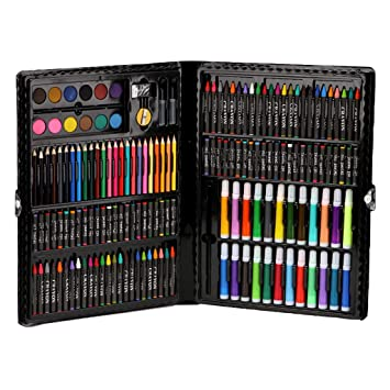 NEW COLOUR PENCILS SET OF 22 FOR KIDS GROOMING ART CRAFTS PAINTING SET PENCILS