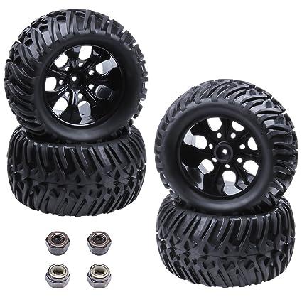 Amazon.com: Juego de 4 piezas de neumáticos y llantas de ...