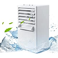 AIKER Air Cooler Mini Portable Air Conditioner Fan Noiseless Evaporative Air Humidifier for Room Office Desktop Nightstand … …