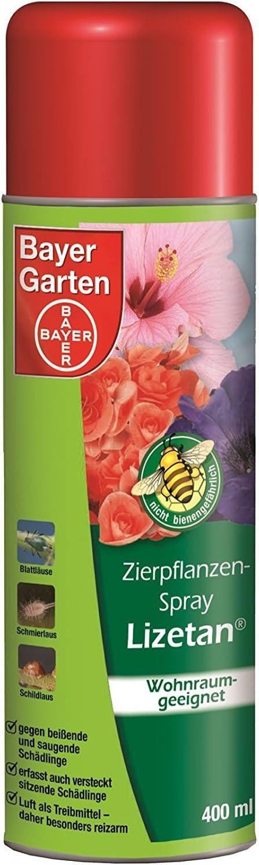 Bayer Planta Ornamental Spray 400ml, contra wollläuse, lanzado ácaros blancas, mosca