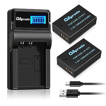Amazon.com: OAproda cargador Baterías y USB: Camera ...