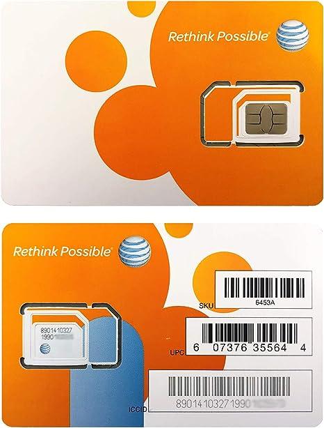 Amazon.com: Tarjeta SIM AT&T, compatible con servicio ...