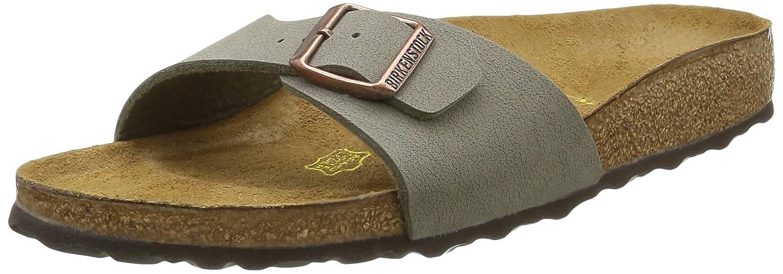Birkenstock Madrid, Mules Femme, Gris (Stone), 40 EU: : Chaussures et Sacs