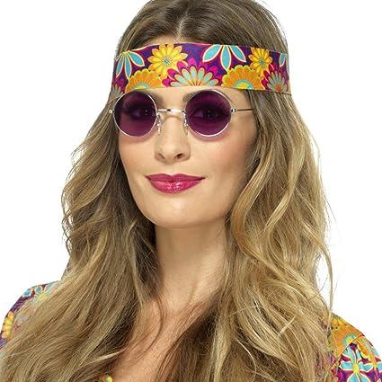 Anteojos de Sol Años 70 - Violeta | Gafas de Hippy | Lunetas ...