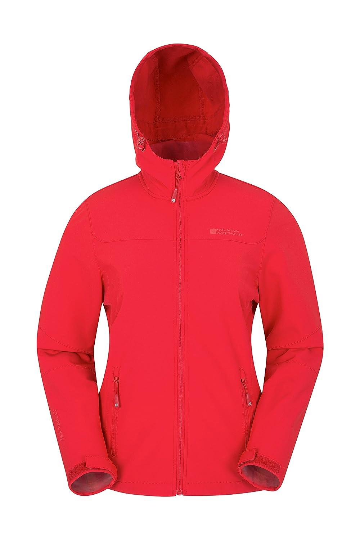 Mountain Warehouse Exodus Womens Softshell Jacket - Cool Summer Coat