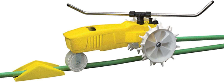 B00002N6AN Nelson Traveling Sprinkler RainTrain 13,500 Square feet Yellow (818653-1001) 71dCTDyGpBL