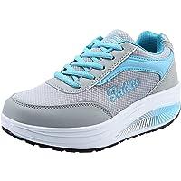 STRIR Zapatillas Deportivas de Mujer Running Sneakers Respirable Zapatos Primavera Otoño Moda Transpirable con Cordones…