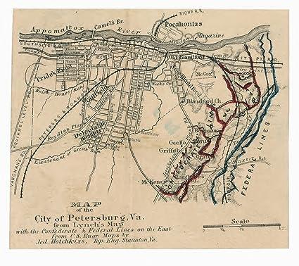 on city map of va