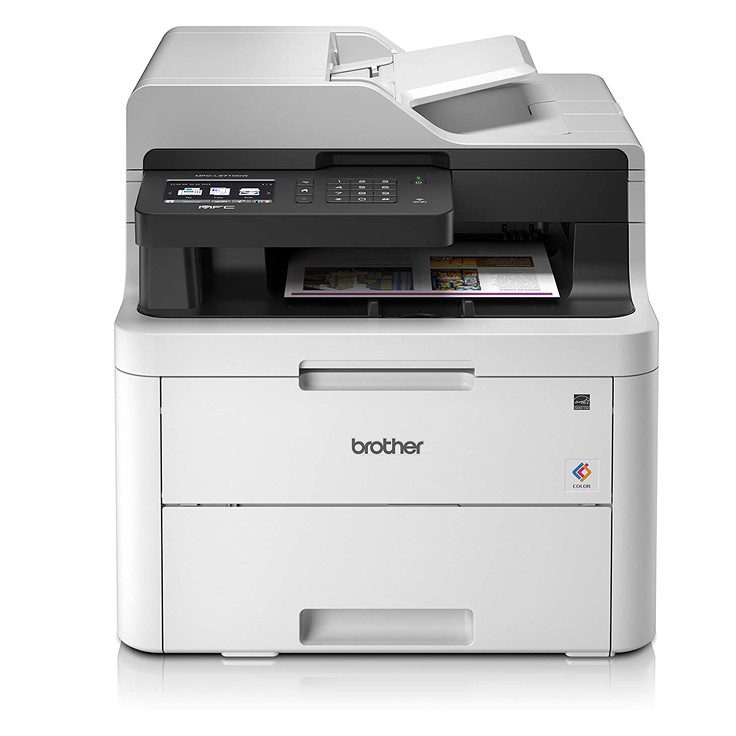 Print Wireless /& PC Connected Brother HL-3140CW Colour Laser Printer A4