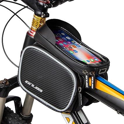 Fahrrad Rahmentaschen Wasserdicht Farhrradlenkertasche Oberrohrtasche für Handy