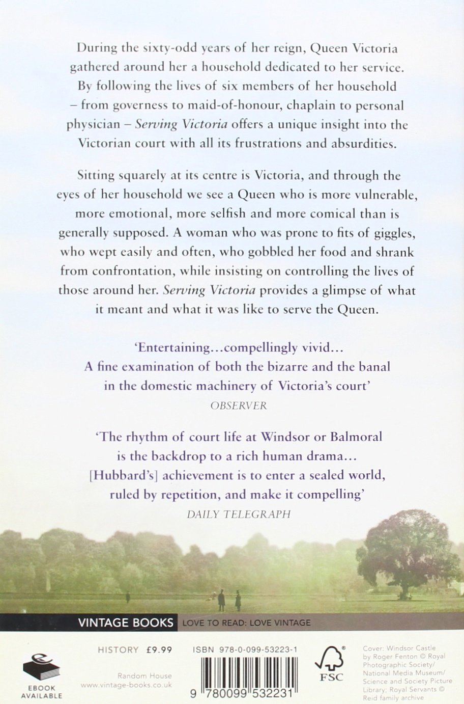 Serving Victoria: Life In The Royal Household: Amazon: Kate Hubbard:  9780099532231: Books