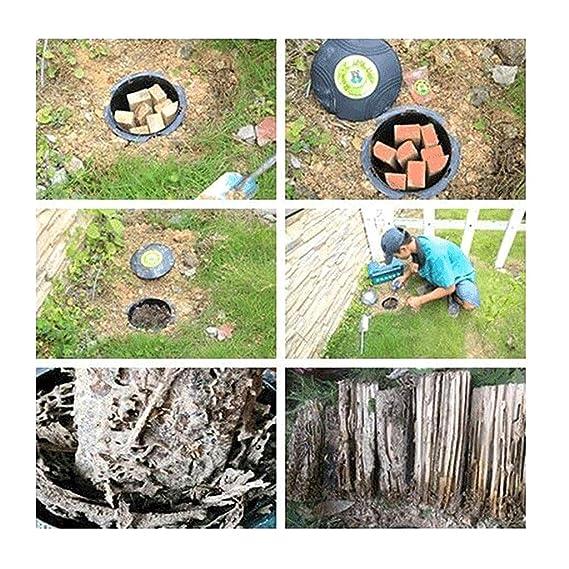 Fafalloagrron Pest Trap Termite Bait Station Garden Bugs Traps Tube Insect Killer Dam Economic Forest Farm Supply Odorless Pest Control